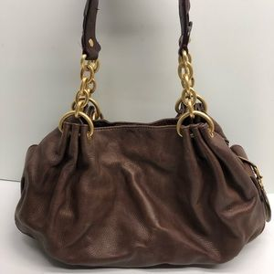 Juicy Couture Leather Barrel Bag!!